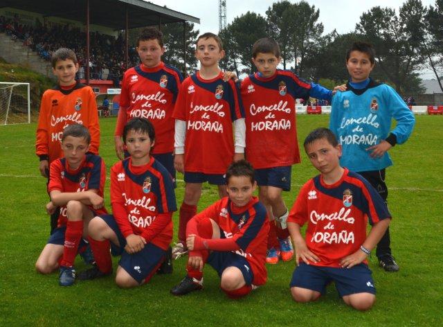 Moraña CF Benjamín B Moraña Cup 2.013