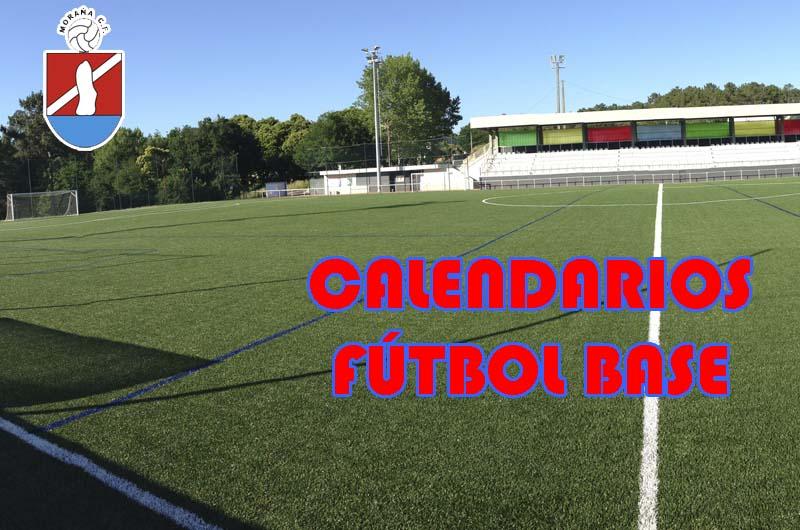 CALENDARIOS FUTBOL BASE