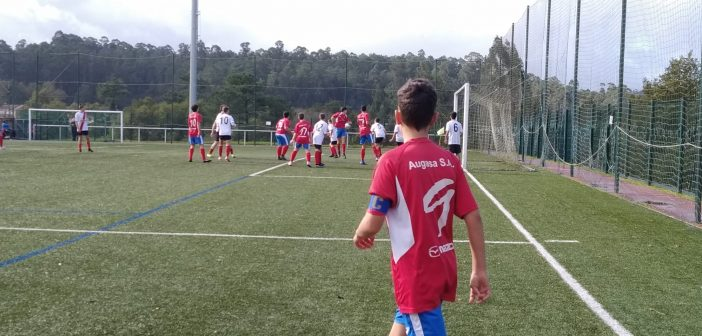 Resumo do Fútbol Base do 9 e 10 de Novembro