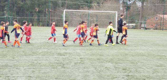 Resumo do Fútbol Base do 15 e 16 de Febreiro